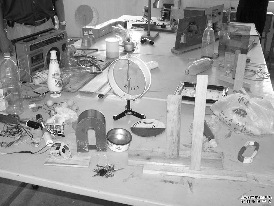 初中物理家庭电路自制教具